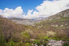 Spring mountain landscape.  Bosnia and Herzegovina Royalty Free Stock Photos