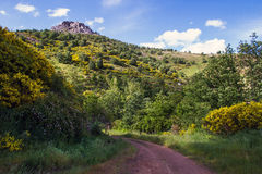 Spring Mountain Landscape Royalty Free Stock Photography