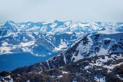 Spring Mountain Range Stock Photo