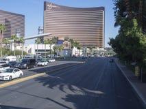 Spring Mountain Road, Las Vegas, USA Royalty Free Stock Photography
