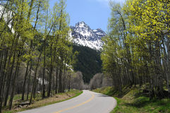 Spring Mountain Road Stock Image