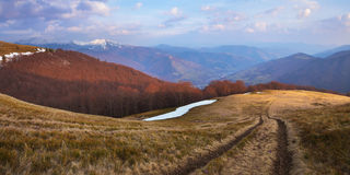 Spring in the mountains Stock Images