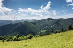 Spring mountains - Svydovets range, Ukraine Stock Images