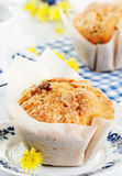 Spring muffins Royalty Free Stock Image