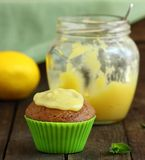 Spring muffins Royalty Free Stock Photo