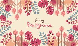 Spring natural background Stock Photo