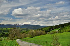 Spring near Bruntal Royalty Free Stock Image
