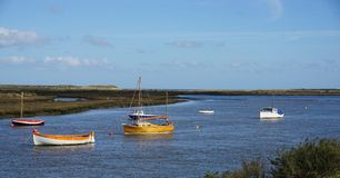 Spring on the Norfolk coast.. Stock Photography