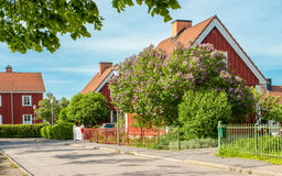 Spring in Norrkoping, Sweden Royalty Free Stock Image