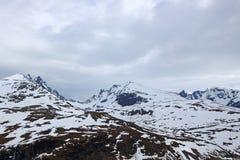 Spring Norway mountains Stock Image