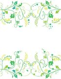 Spring ornament Royalty Free Stock Images