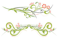 Spring ornament royalty free illustration