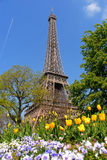 Spring in Paris, eiffel tower royalty free stock photography