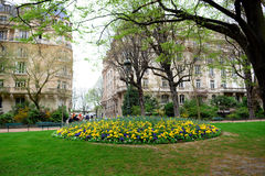 Spring in Paris Stock Image