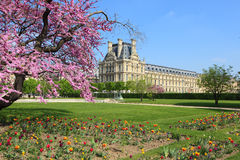 Spring in Paris, France Royalty Free Stock Photo