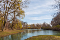 Spring in park Royalty Free Stock Photography