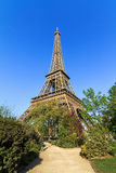 Spring park Eiffel Royalty Free Stock Photography