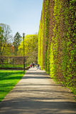 Spring in the Park Oliwski, Gdansk Stock Images