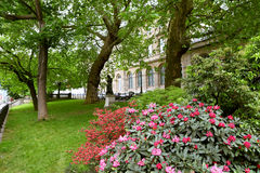 Spring park in Paris Stock Photography