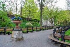 Spring Park Planter Stock Photography