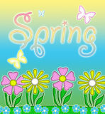 Spring in Pastels Stock Images