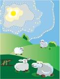 Spring pastoral Stock Image