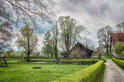 Spring pastoral scene Stock Image