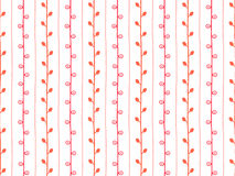 Spring pattern. Seamless sketch vector illustration. Pink and white twig background. Hand drawn branch texture. Spring pattern. Seamless sketch vector Stock Photography