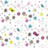 Spring Pattern. A seamless spring / summer style pattern Stock Images