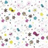 Spring Pattern royalty free illustration