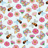 Spring pattern 3 Royalty Free Stock Images