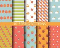 Spring patterns Stock Image