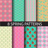 Spring patterns Stock Photo