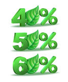 Spring Percent discount icon Royalty Free Stock Images