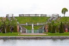 Spring in Petergof park Royalty Free Stock Photos