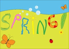 Spring picture Royalty Free Stock Image