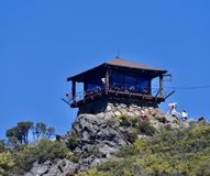 Mount Tam Fire Lookout Station stock photography