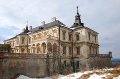 Spring Pidhirtsi Castle view (Ukraine) Stock Images