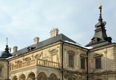 Spring Pidhirtsi Castle view (Ukraine) Stock Photos
