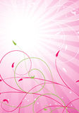 Spring pink background Royalty Free Stock Image