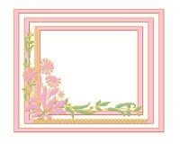 Spring Pink Frame Stock Photos