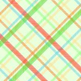 Spring plaid texture Royalty Free Stock Photography