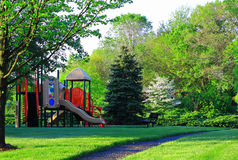 Spring Playground Royalty Free Stock Photo
