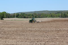 Spring plowing Stock Photography