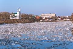 Spring Polotsk Royalty Free Stock Photo