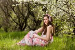 Spring portrait Stock Photos