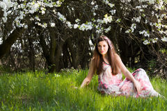 Spring portrait Royalty Free Stock Photo
