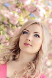 Spring Portrait Stock Images