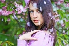 Spring portrait Stock Images