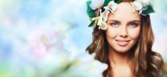 Spring portrait Royalty Free Stock Photos